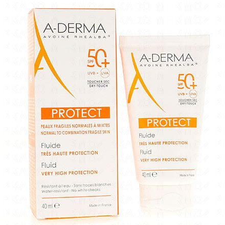 A-DERMA Protect fluide très haute protection SPF50+ - Illustration n°2