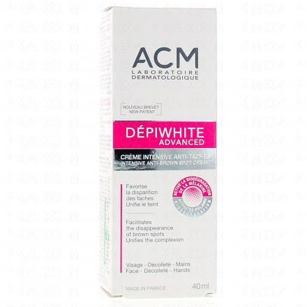 ACM Dépiwhite  Advanced Crème intensive anti-taches tube 40 ml - Illustration n°1