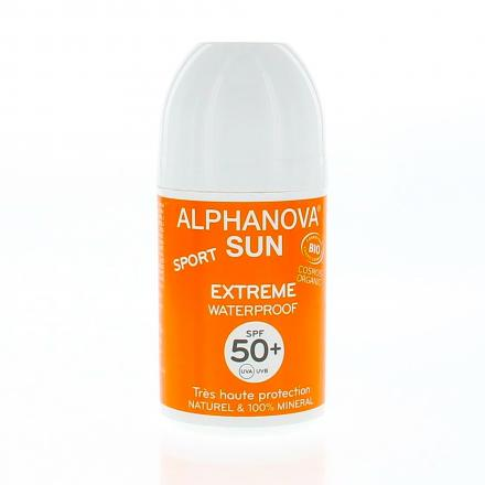 ALPHANOVA SUN Sport roll on solaire bio SPF50+ 50g - Illustration n°1