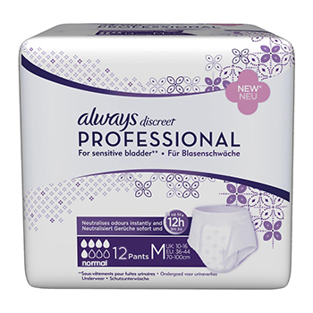 ALWAYS Discreet professional normal taille M