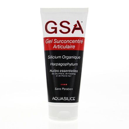 AQUASILICE GSA Gel surconcentré articulaire tube 200ml