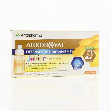 ARKOPHARMA ArkorRoyal junior unidose x 5  - Illustration n°1