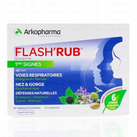 ARKOPHARMA Flash'Rub 15 comprimés - Illustration n°1