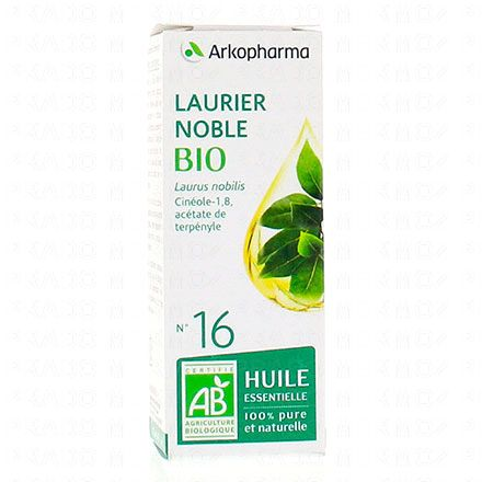 ARKOPHARMA Huile essentielle de Laurier noble N°16 Bio flacon 5ml - Illustration n°1