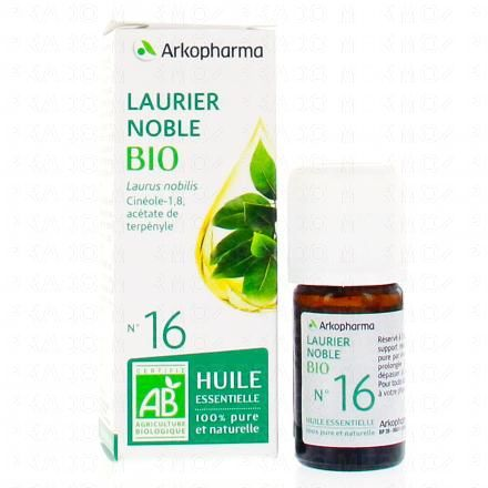 ARKOPHARMA Huile essentielle de Laurier noble N°16 Bio flacon 5ml - Illustration n°5