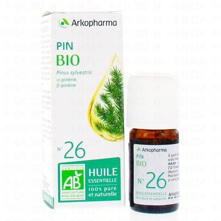 ARKOPHARMA Huile essentielle de Pin N°26 Bio flacon 5ml  - Illustration n°2