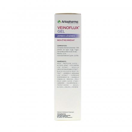 ARKOPHARMA Veinoflux gel tube 150ml - Illustration n°3