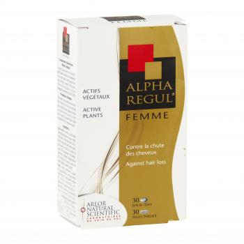 ARLOR Alpharegul cheveux femme 60 capsules - Illustration n°1