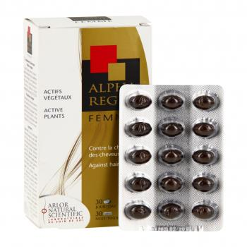 ARLOR Alpharegul cheveux femme 60 capsules - Illustration n°2