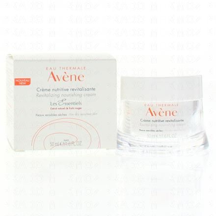 AVÈNE Crème nutritive revitalisante pot de 50ml - Illustration n°3