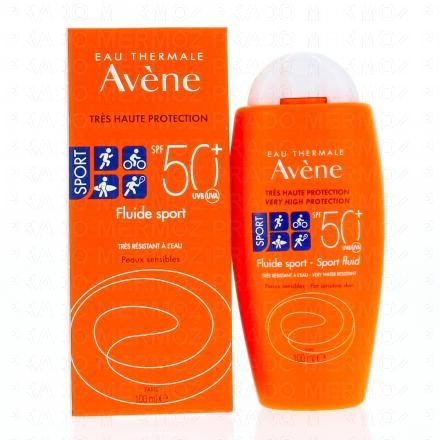 AVENE Fluide Sport SPF 50+ flacon 100ml - Illustration n°2