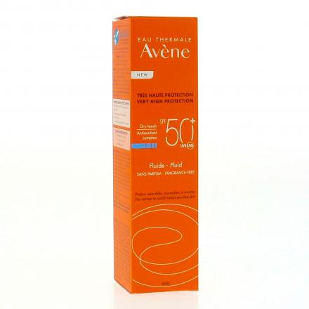 AVENE Fluide sans parfum SPF50+ flacon pompe 50ml - Illustration n°3