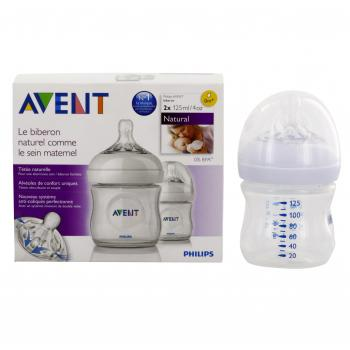 AVENT Natural biberon lot de 2 x 125ml - Illustration n°2