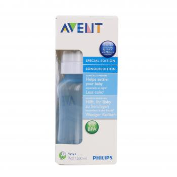 AVENT Biberon en polypropylène bleu 260ml - Illustration n°2