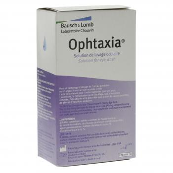 Ophtaxia solution pour lavage oculaire flacon 120ml - Illustration n°2