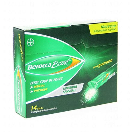 BEROCCA Boost absorption rapide