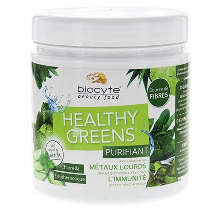 BIOCYTE Healthy greens purifiant pot 208g