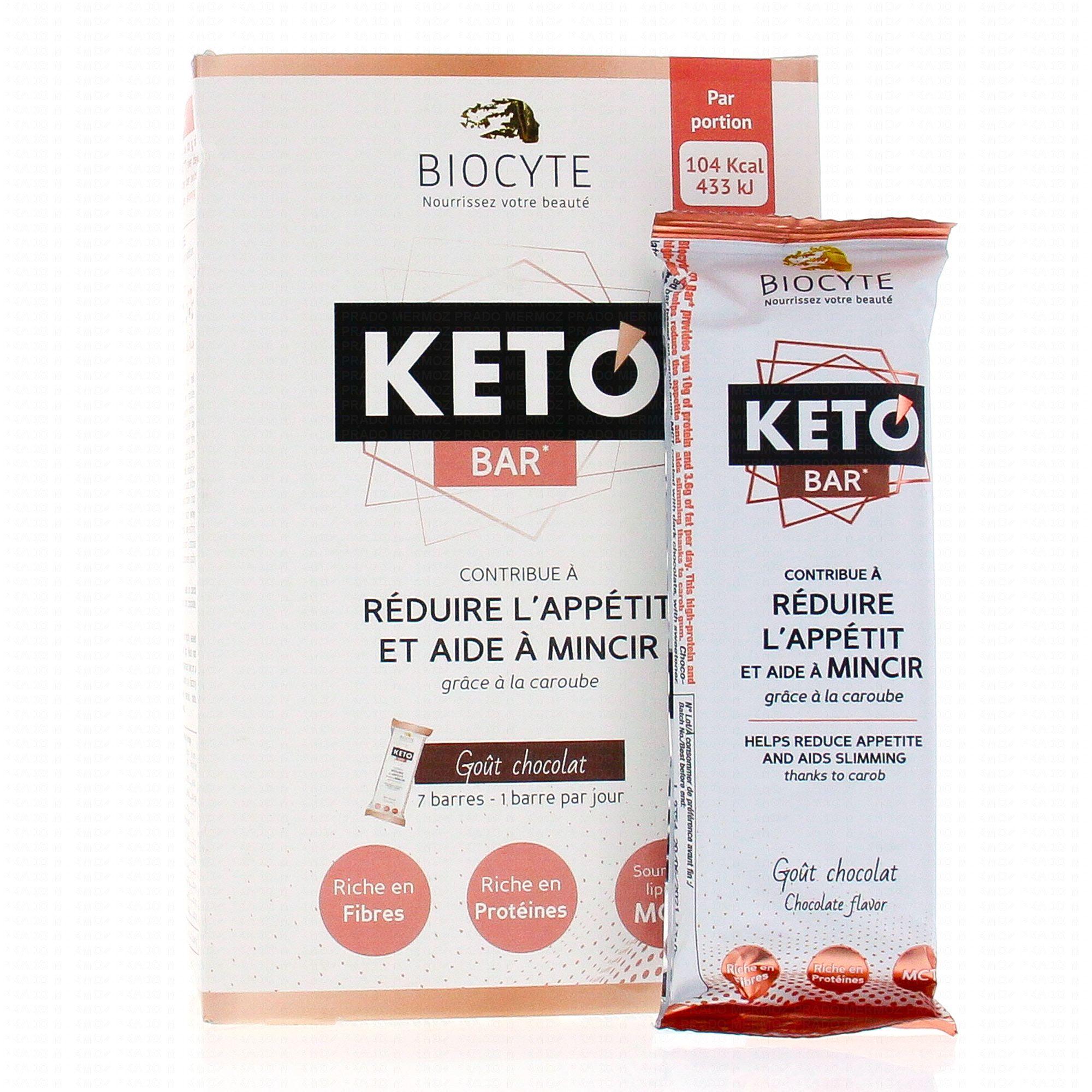 Biocyte Keto Bar 7 Barres