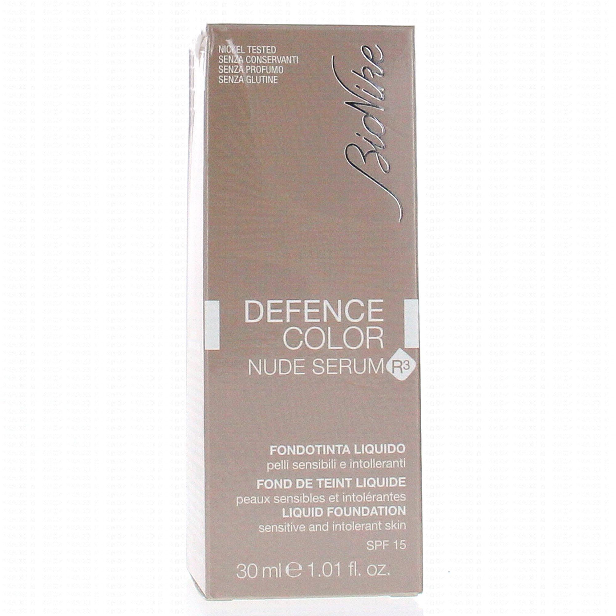 BioNike Defence Color Fondotinta Fluido Antiage SPF 15
