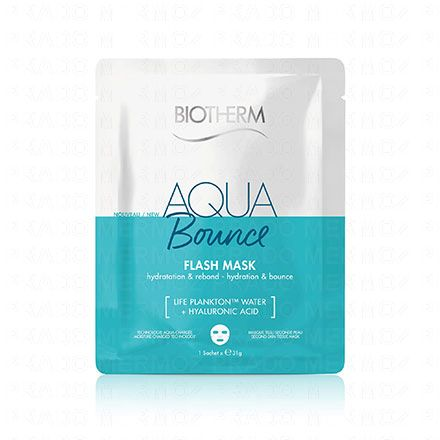 BIOTHERM Aqua super concentrates - Aqua Bounce Flash Mask 1 sachet de 31g