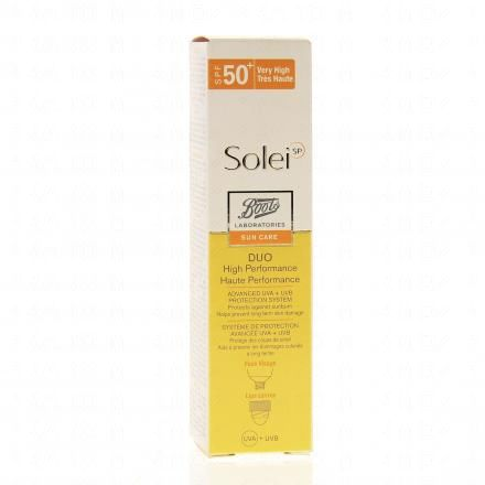 BOOTS SoleiSP duo haute performance SPF 50+ - Illustration n°1