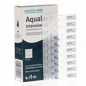 BAUSCH + LOMB Aqualarm Intensive UD 30 unidoses de 0,5 ml - Illustration n°2