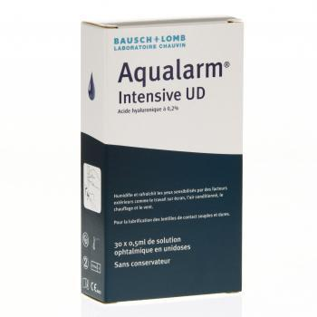 BAUSCH + LOMB Aqualarm Intensive UD 30 unidoses de 0,5 ml - Illustration n°3