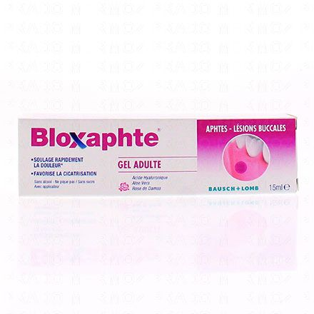 Bloxaphte gel adulte aphtes tube 10ml - Illustration n°1