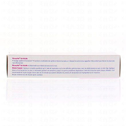 Bloxaphte gel adulte aphtes tube 10ml - Illustration n°3