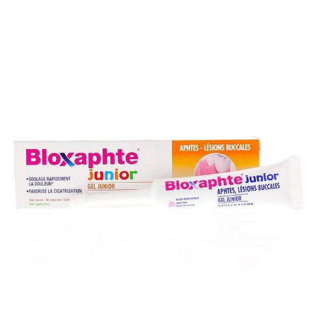 Bloxaphte gel junior aphtes tube 15ml - Illustration n°2