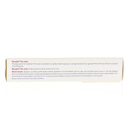 Bloxaphte gel junior aphtes tube 15ml - Illustration n°3
