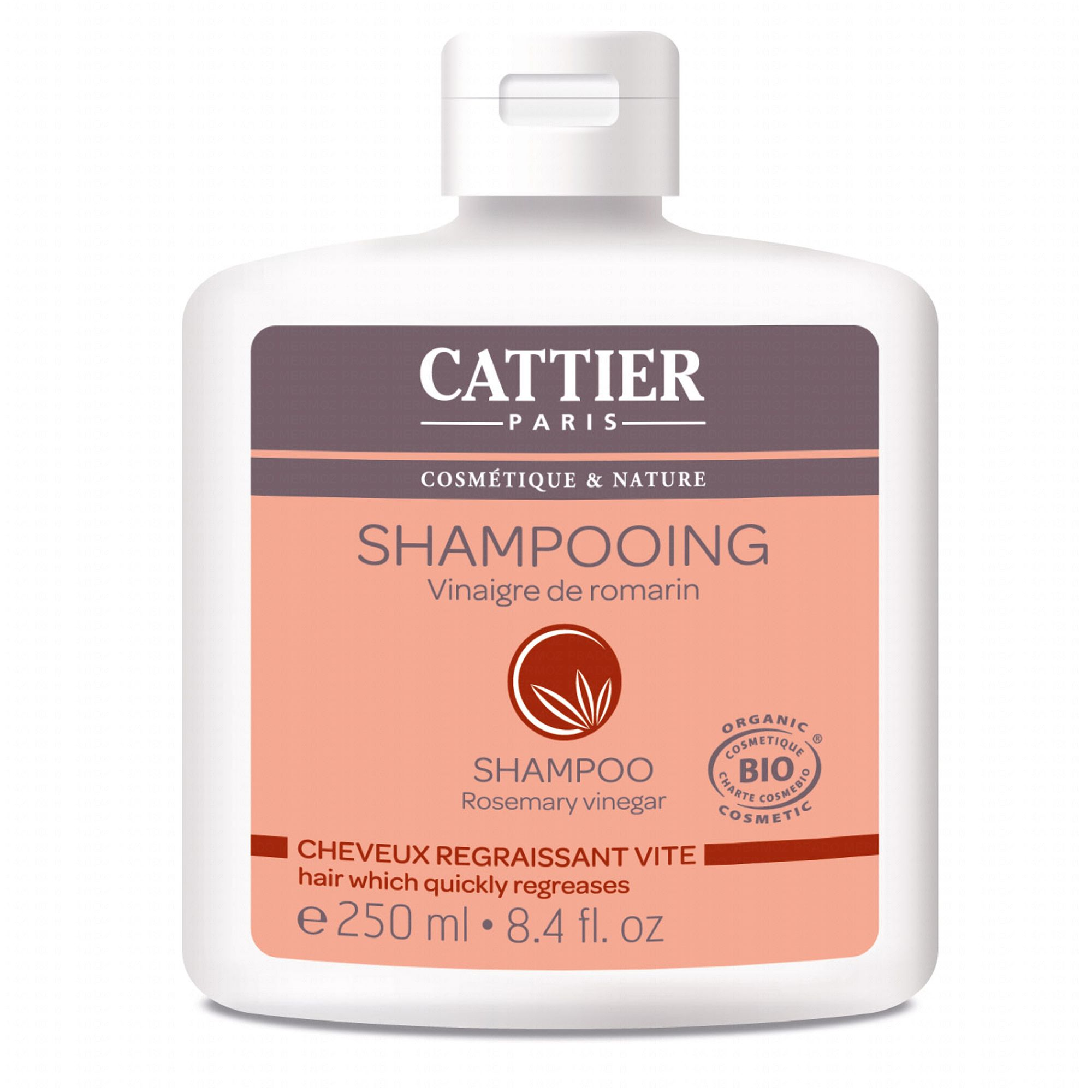 cattier shampooing vinaigre de romarin cheveux gras bio - Shampoing Bio Cheveux Colors