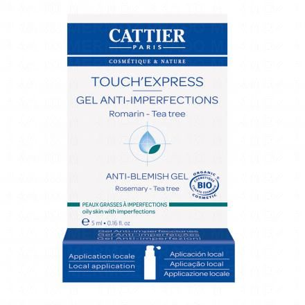 CATTIER Touch'express gel anti-imperfections bio
