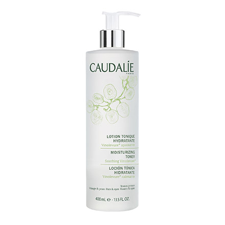 CAUDALIE Lotion tonique hydratante flacon pompe 400ml