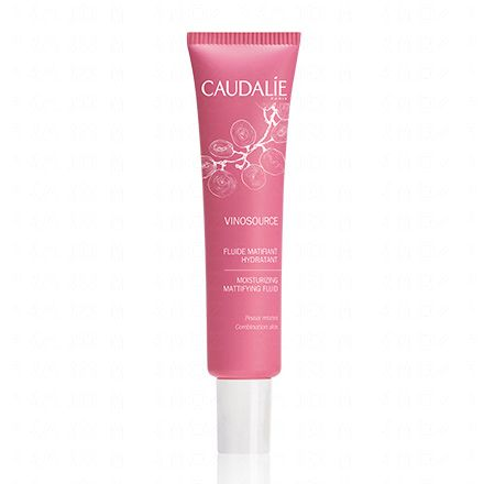 CAUDALIE Vinosource fluide matifiant hydratant tube 40ml