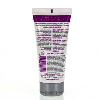 CEBELIA Crème mains et ongles multi-active tube 75ml - Illustration n°2