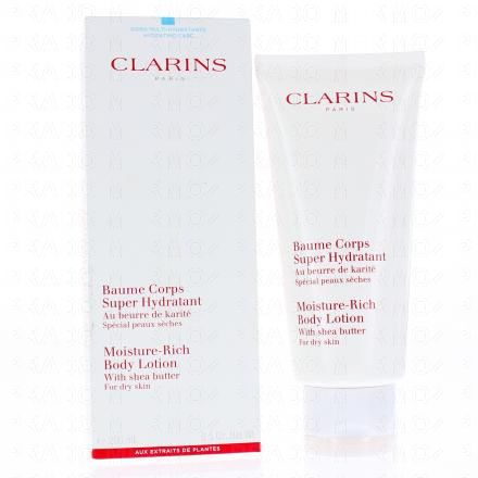 CLARINS Baume corps Super Hydratant tube 200 ml - Illustration n°2