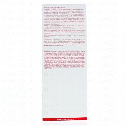 CLARINS Baume corps Super Hydratant tube 200 ml - Illustration n°3