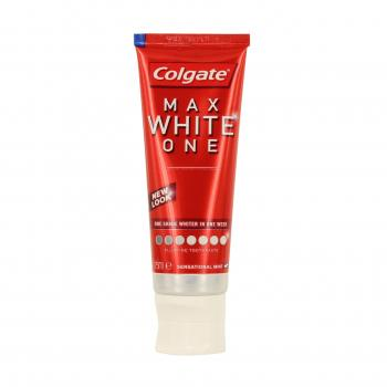 COLGATE Max white one menthe sensation tube 75ml - Illustration n°2