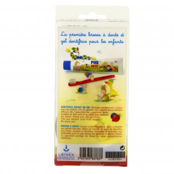 CRINEX Kit d'apprentissage brosse à dents phb enfant  - Illustration n°3
