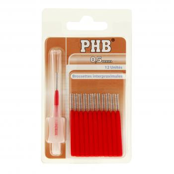 CRINEX Phb brossettes 0.5mm rouge x 12
