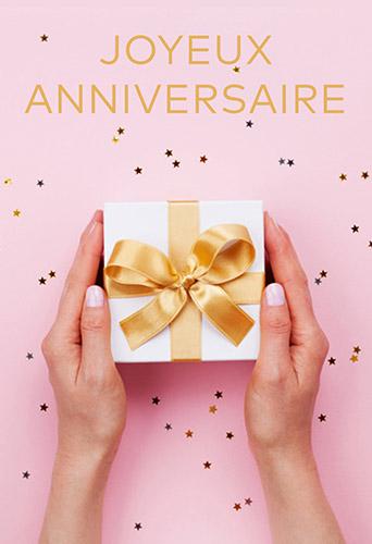 Carte Cadeau Joyeux Anniversaire Parapharmacie En Ligne Prado Mermoz