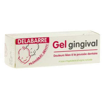 DELABARRE Gel gingival premières dents tube 20g - Illustration n°1