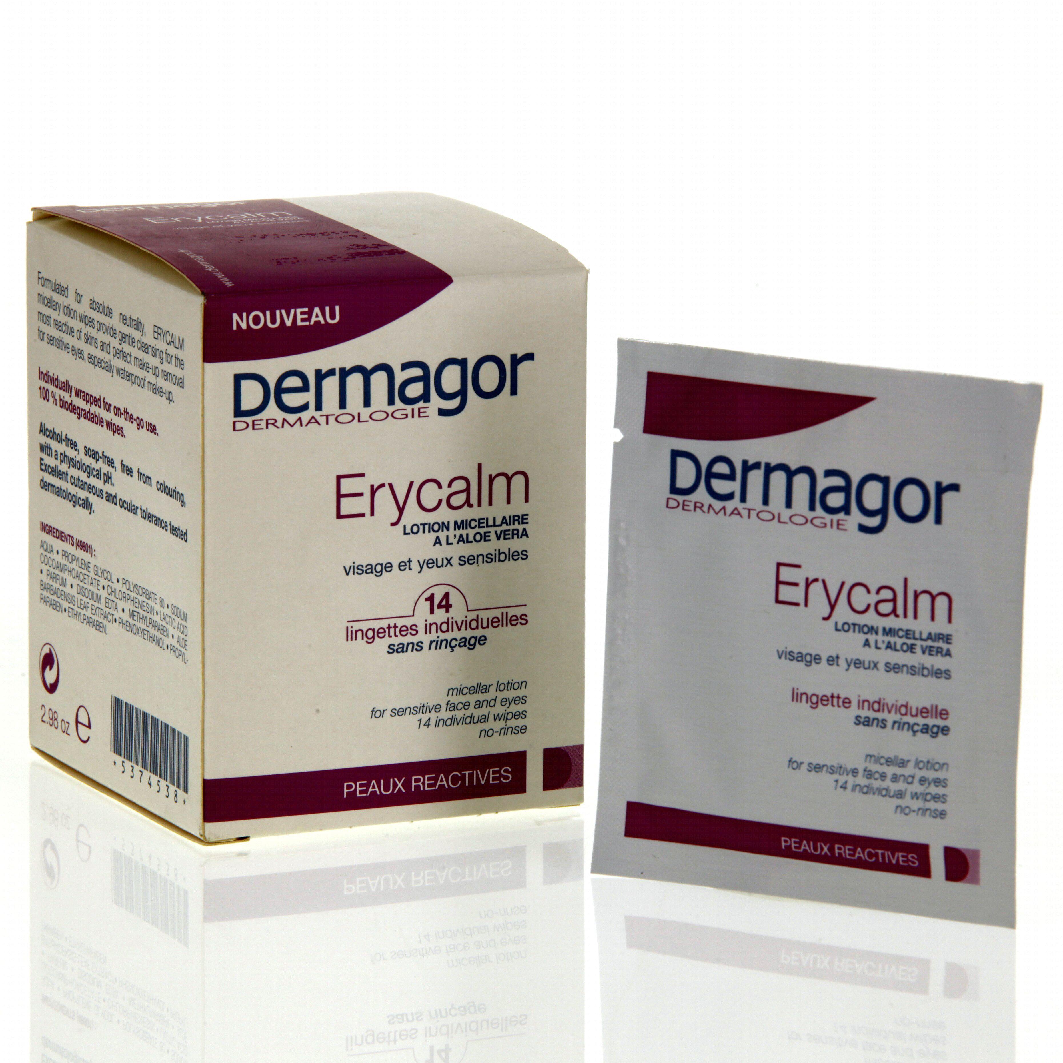 serum physiologique lingettes visage et creme visage