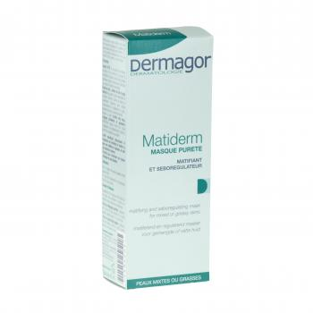 DERMAGOR Matiderm masque tube 50ml