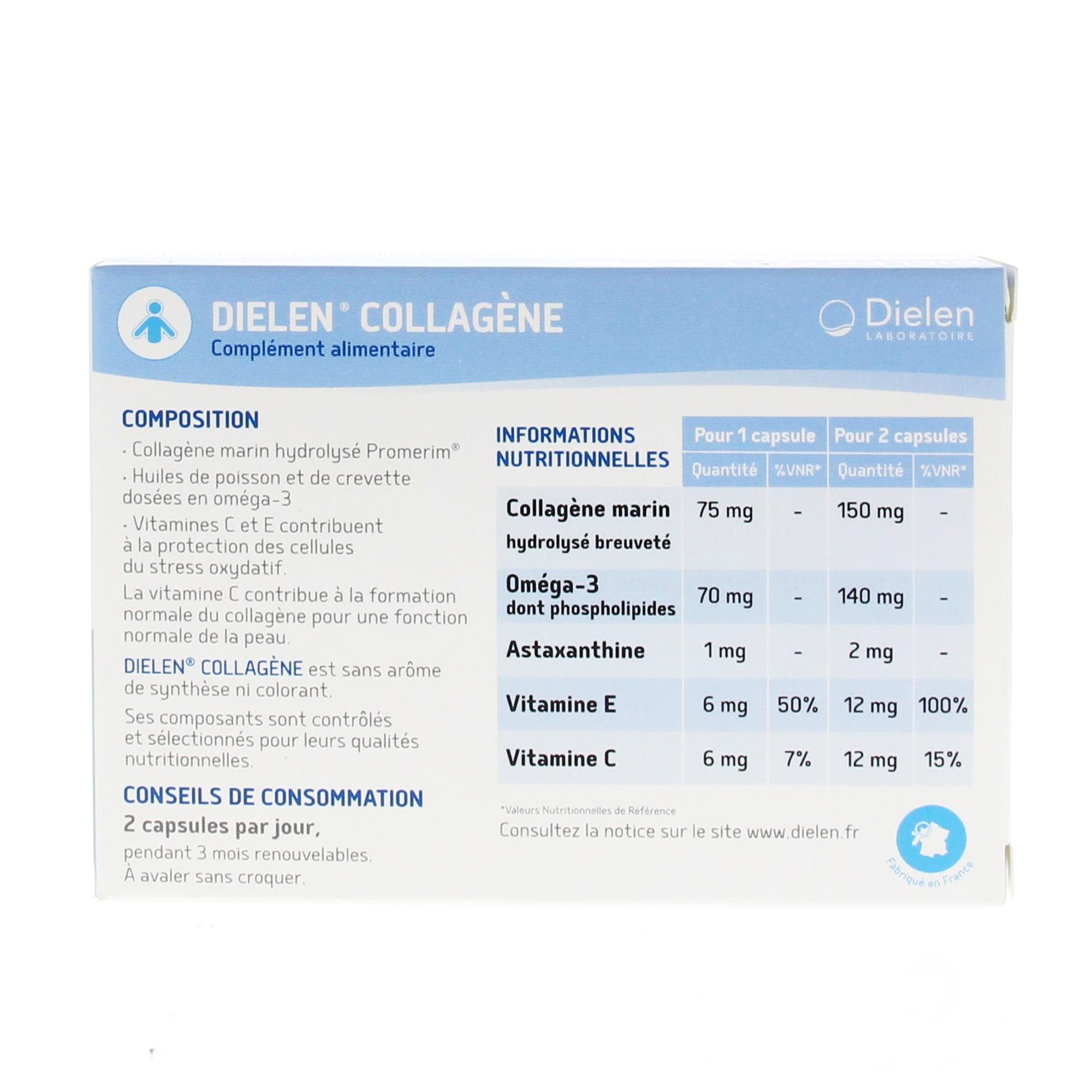 foto de DIELEN Anti-âge boîte de 60 capsules - Parapharmacie en ligne ...