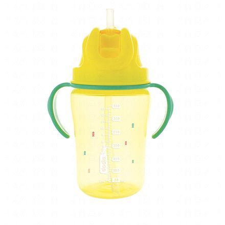 DODIE Tasse paille jaune 350ml 18m+ - Illustration n°2