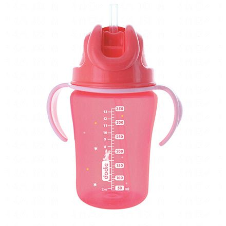 DODIE Tasse paille rose 350ml 18m+ - Illustration n°3