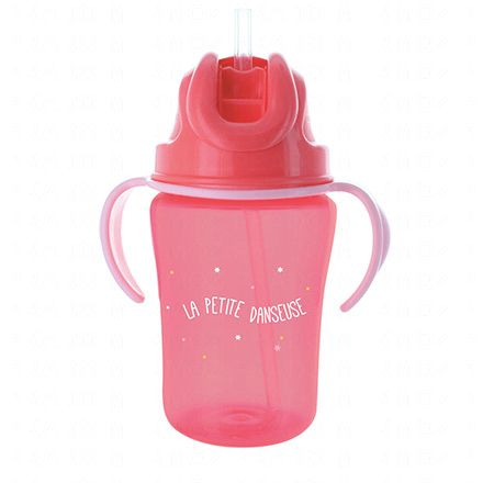 DODIE Tasse paille rose 350ml 18m+ - Illustration n°2