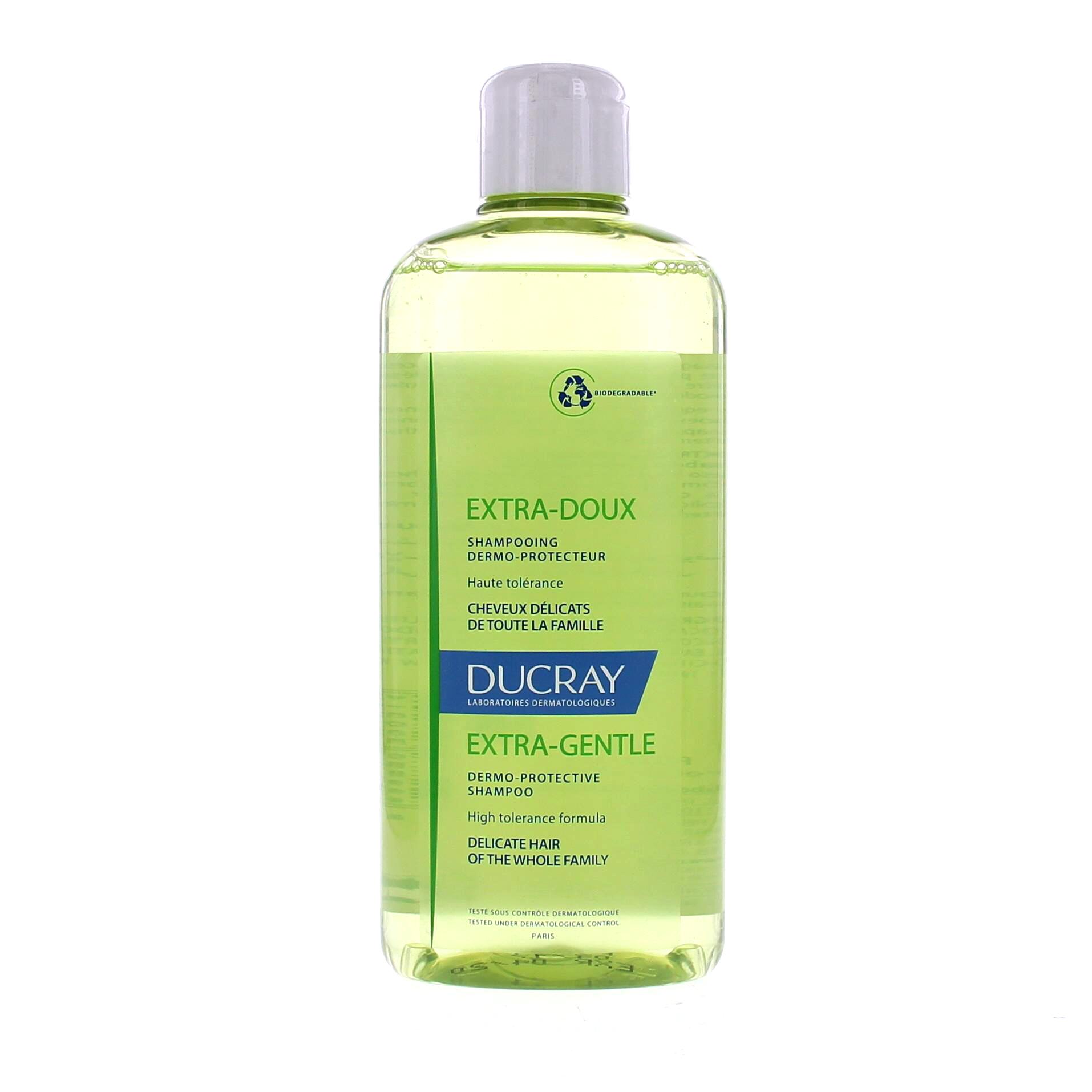ducray shampooing extra doux flacon 400ml sans pompe parapharmacie en ligne prado mermoz